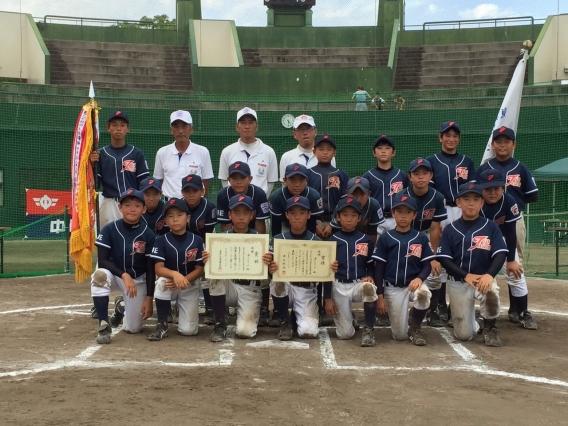 三重テレビ旗・中日新聞社杯争奪リトルリーグ野球大会 優勝!!